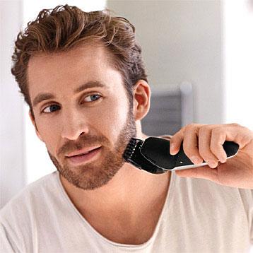 Rasoir électrique avec tondeuse barbe