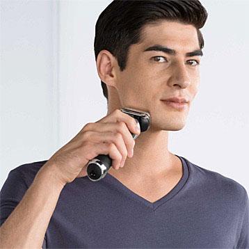 Utilisation rasoir électrique